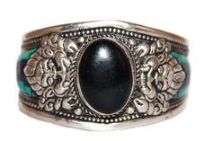 Onyx Cuff Bracelet