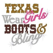 Boots & Bling everything is big in TEXANS