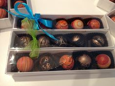 Dark or colourful - don't miss out on truffle season!  www.gemchocolates.ca