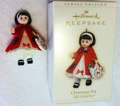 Series Edition Hallmark Keepsake Ornament Christmas Tea Madame Alexander In Box