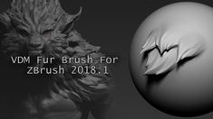VDM Fur Brush for Zbrush 2018 Zbrush Character, 3d Model Character, Zbrush Tutorial, 3d Tutorial, Zbrush Hair, Balage Hair, Digital Sculpting, Modeling Techniques, 3d Artist