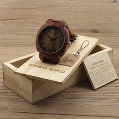 $39.99 (Buy here: https://alitems.com/g/1e8d114494ebda23ff8b16525dc3e8/?i=5&ulp=https%3A%2F%2Fwww.aliexpress.com%2Fitem%2FHot-Fashion-Men-Bamboo-Wood-Watches-Men-s-Quartz-Hour-Clock-Leather-Strap-Wooden-Wrist-Watch%2F32616056454.html ) BOBO BIRD Fashion Men Red Wood Watches Japanese Movement Quartz Wristwatch Male Relogio - Brown Genuine Leather Strap, Wood Box for just $39.99
