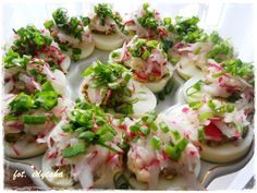 Aga, Fresh Rolls, Potato Salad, Food To Make, Sushi, Grilling, Salads, Food And Drink, Appetizers
