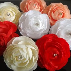 24pcs/lot Free Shipping Camellia Flower Hair Clips Pins. Wedding Party Bride Flower Hair fascinator Woman Girls Hair Accessories US $16.18