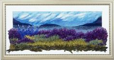 learn about embroidery landscapes with Gilda Baron