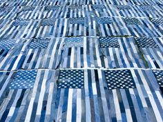 I recently finished one of the most personally fulfilling projects that I have ever worked on. I was asked to make 65 American flags at 4′ x 6′ out of recycled Levi's jeans, one for every store. The project was …