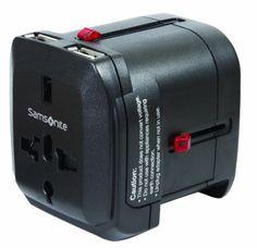 Travel Accessories Samsonite World Wide Power Adapter