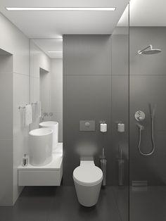 łazienka minimalistyczna mood-project,pl