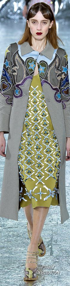 Mary Katrantzou FW2016 Women's Fashion RTW | Purely Inspiration