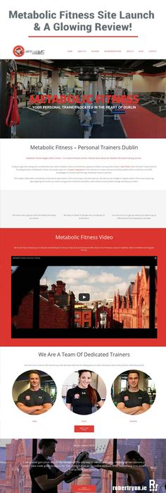 New #WordPress site launch for Dublin based personal trainers Metabolic Fitness. This web design project had to be done in a hurry, but no problems there!
