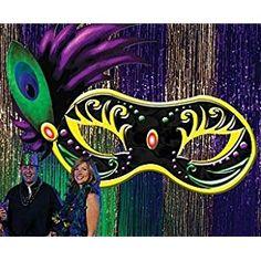 Large Masquerade Mask Decorations | Click to buy Mardi Gras Ball Large Maskfrom Amazon!