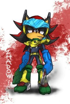 another Zhadow the Zone Cop created myself. and this is a finalize art-style using in X-over mode (pencil sketch + digi color) after finishing process. The Ultimate Zone Cope Shadow The Hedgehog, Sonic The Hedgehog, Silver The Hedgehog, Shadow And Amy, Sonic And Shadow, Sonic Heroes, Sonic Franchise, Amy Rose, Sonic Fan Art