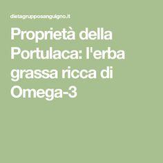 Proprietà della Portulaca: l'erba grassa ricca di Omega-3
