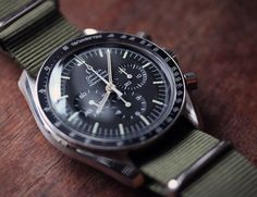 How to buy a vintage watch.  I love this Omega Speedmaster