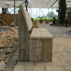 Steigerhout tuinbank 'Varel'