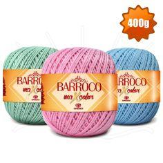 Barbante Barroco MaxColor Candy Colors nº 06 400g - Bazar Horizonte