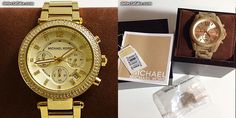 Michael Kors watches, short review about how to spot fake and buy genuine