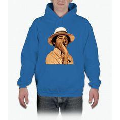 young obama smoke classic Hoodie