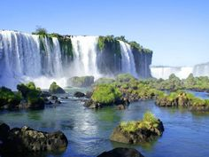 Iguazu Falls, Argentina/Paraguay/Brazil.