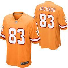 Nike Vincent Jackson Tampa Bay Buccaneers Historic Logo Youth Throwback Game  Jersey - Orange Glaze Danny bf7e6775e