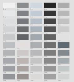 grises pintura gris colores grey escala paredes pared tonos shades casa blanco paletas invisible lamano friday pintar guardado desde inspirations