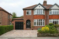 3 bedroom semi-detached house for sale in Sandileigh Avenue, Hale - Rightmove 1930s House Extension, House Extension Plans, Garage Extension, House Extension Design, Extension Ideas, Side Extension, Garage House, House Front, 1930s House Exterior Uk