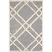 Found it at Wayfair - Cambridge Silver / Ivory Area Rug