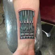 Luke Skywalker's Bionic Arm by Just Alan at Pierced Hearts, Seattle, WA