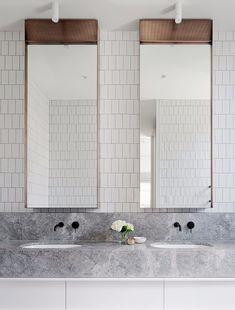 Home Interior Traditional .Home Interior Traditional Bathroom Mirror Inspiration, Bathroom Inspo, Bathroom Interior, Modern Bathroom, Small Bathroom, Master Bathroom, Mirror Ideas, Bathroom Remodeling, Bathroom Hacks