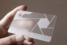 25 best business card printing images on pinterest order business frosted plastic cards make for a unique business card this one colour design proves that simple can be incredibly effective reheart Image collections