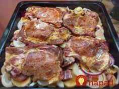"""Takiej karkówki jeszcze nie jedliście – """"Cygan w Rondlu"""" zachwyci nawet . Pork Recipes, Cooking Recipes, Kebab, Czech Recipes, Hungarian Recipes, Pork Dishes, Food Inspiration, Love Food, Food Porn"""