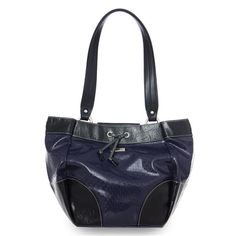 Miche Demi ~ navy blue, black, pattern, miche, shell