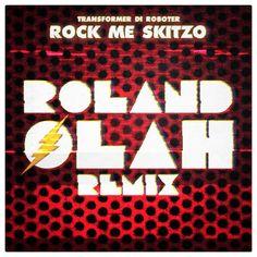Rock Me Skitzo – Roland Olah Remix Transformers, Calm, Entertainment, Magazine, Rock, Artwork, Design, Robot, Work Of Art