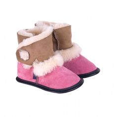 Your kids will never want to wear anything else again. Our kids' sheepskin slippers made with reversed sheepskin and colorful suede are kids' favorites. Sheepskin Slippers, Our Kids, Rose, How To Wear, Color, Fashion, Sheep, Gift Ideas, Colour