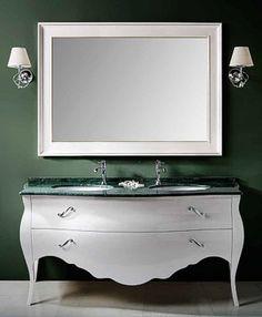 """Double Bathroom Vanity """"Vienna"""" #03  http://www.classic-bad.de/ 5650eur"""