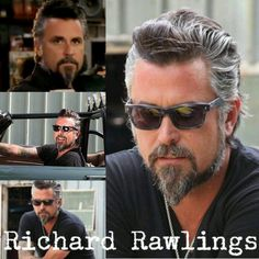 Richard Rawlings from gas monkey garage....my TV crush!!  Lol love this Guy!!