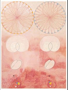 HILMA AF KLINT,   Old Age, The Ten Largest, No. 9, group IV #art, #hilmaafklint, #Abstractart, #picture, #exhibition