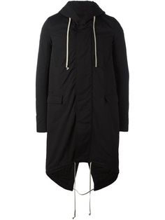 RICK OWENS DRKSHDW 'Fishtail' coat. #rickowensdrkshdw #cloth #coat