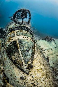 Truk Lagoon - Micronesia, Canopy Betty Bomber | ©2014 John Galbreath