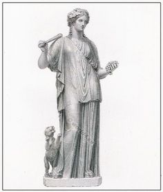 Libera, or the female Bacchus in a tunic - The Roman Tunica or Greek Chiton