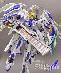 "Custom Build: MG 1/100 Tallgeese III ""Wings"" - Gundam Kits Collection News and Reviews"