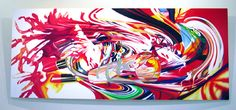 Women's Intuition, after Aspen by James Rosenquist, oil on canvas, 5' x 12', 1998