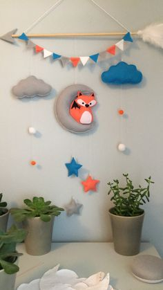 17 super ideas for baby nursery diy decor crafts kids rooms Diy Nursery Decor, Baby Nursery Diy, Baby Room Diy, Baby Room Decor, Diy Baby, Nursery Crafts, Baby Rooms, Decor Crafts, Diy And Crafts
