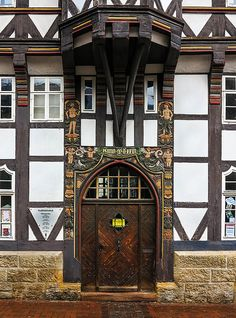 Doorway Goslar   Flickr - Photo Sharing!