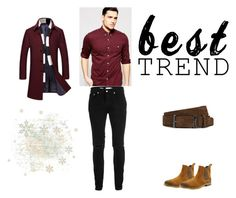 """Bez naslova #15"" by semiragoletic ❤ liked on Polyvore featuring Topman, Hogan, Crevo, ASOS, men's fashion and menswear"
