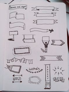 style écriture journal intime | Bannières, Note and Croquis on Pinterest