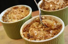 Creations by Steph: Pear Crumble