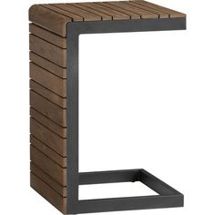 Rocha Side Table in Rocha   Crate and Barrel