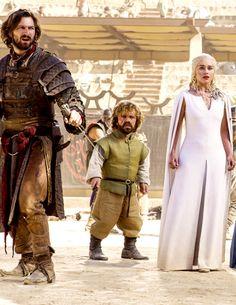 Daario Naharis, Tyrion Lannister and Daenerys Targaryen ~ Game of Thrones