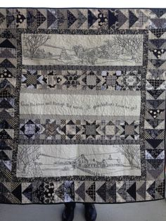 Over The River and Through the Woods... Quilt | coleen's space